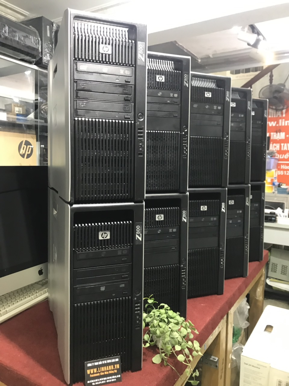 HP Workstation Z800 (Cấu hình 1)