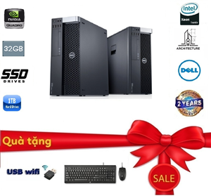 Dell Workstation T7600 (Cấu hình 1)